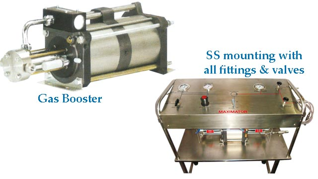 Gas booster