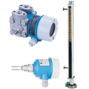 Level transmitter switch with indicator